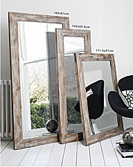Standen Rustic Rectangle Mirror
