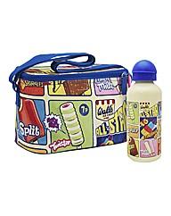 Walls Retro Cool Bag & Drinks Bottle