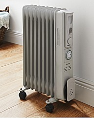Warmlite Grey 2000w Tall Oil Radiator