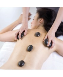 2 Gifts In 1 Hot Stone Massage Dove Spa