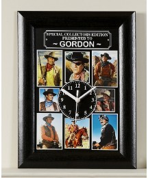 Personalised Celebrity Legends Clock