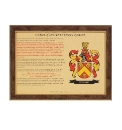 Personalised Coat Of Arms Certificate