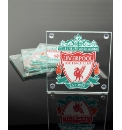 Football Team Glass 4 Piece Coaster Set
