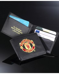 Personalised Football Message Wallet
