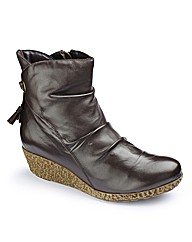 Brevitt Wedge Ankle Boots EEE