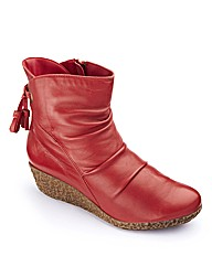Brevitt Wedge Ankle Boots E Fit