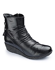 Brevitt Wedge Ankle Boots EEE