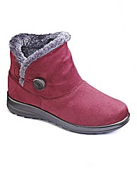 Cushion Walk Warmlined Ankle Boot E Fit