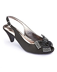 The Shoe Tailor Slingback Shoes E Fit