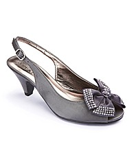 The Shoe Tailor Slingback Shoes EEE Fit