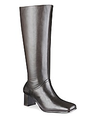 Legroom High Leg Boot EEE Curvy Plus
