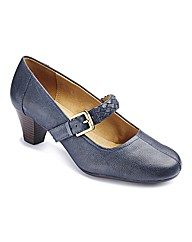 Clarks Fearne Dew Bar Shoes E Fit