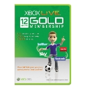 12 Months XBOX Live Membership