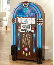 JDW Floorstanding Jukebox - Light Wood