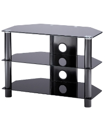 Black TV Stand up to 37in