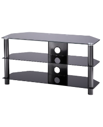 Black TV Stand up to 47in
