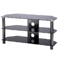 Alphason Black TV Stand up to 47in