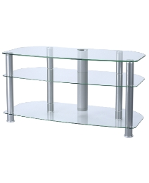 Clear TV Stand up to 47in