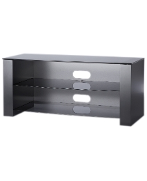 Grey Glass TV Stand up to 55in