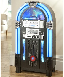 JDW Floorstanding Jukebox - Dark Wood