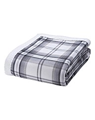 Kelso Check Sherpa Throw
