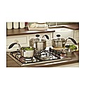 Eazigrip Three Piece Saucepan Set