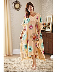 100% Cotton Peach Kaftan