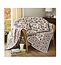 Cotton Poppy Throw BOGOF