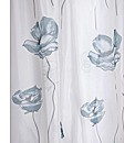 Poppy Watercolour Print Voile