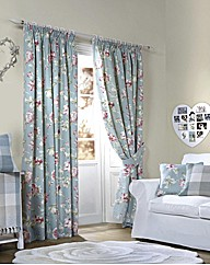 Apsley Cotton Lined Curtains