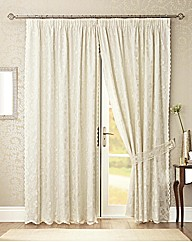 Lace Lined Curtains Fiji