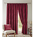 Rose 3 Inch Tape Curtains Free Tiebacks