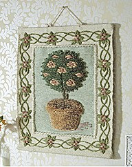 Topiary Hand Crafted Wall Hanging