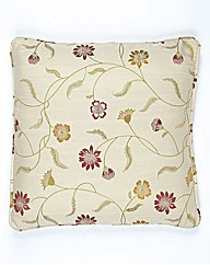 Isla Embroidered Cushion Cover Pair