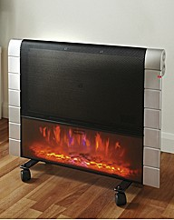 1200W Heater With Log Effect Save On RRP