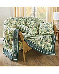Cotton Ivy Leaf Throw BOGOF