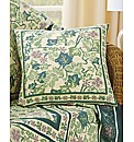 Cotton Ivy Leaf Cushion Cover BOGOF