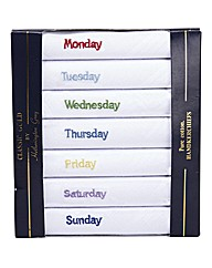Days of the Week Hankies