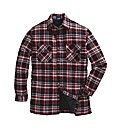Quilted Lined Check Shirt