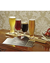Beer Tasting Glasses Set