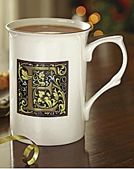 Arts and Crafts Initial Mug