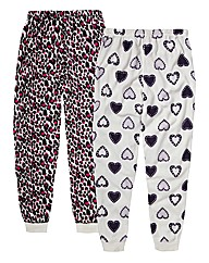 Pretty Secrets Fleece Bottoms Pack of 2