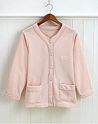 Plush Bed Jacket Personalised