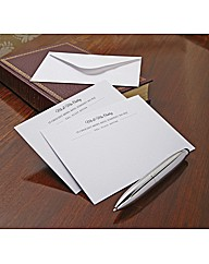 Personalised Correspondence Cards Pack50