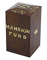 Sheesham Wood Mansion Fund Box