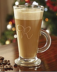 Latte Glass Personalised