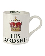 Lordship Mug Personalised