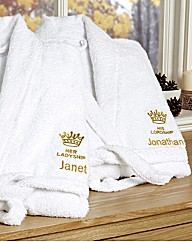 Her Ladyship Robe Personalised