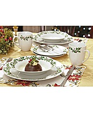 Festive Crockery Set 2 Place Setting