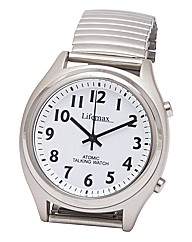 Gents Radio Controlled Talking Watch